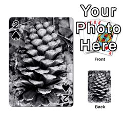 Pinecone Spiral Playing Cards 54 Designs