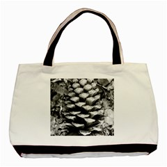 Pinecone Spiral Basic Tote Bag