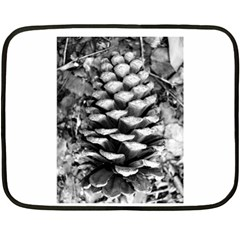 Pinecone Spiral Double Sided Fleece Blanket (mini)