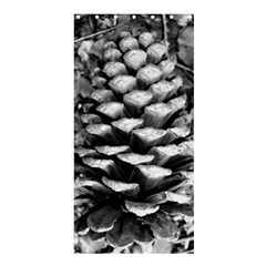 Pinecone Spiral Shower Curtain 36  x 72  (Stall)