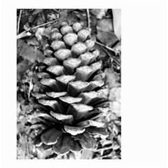 Pinecone Spiral Small Garden Flag (two Sides)