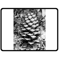 Pinecone Spiral Double Sided Fleece Blanket (Large)