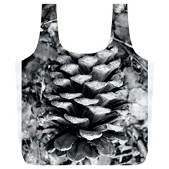 Pinecone Spiral Full Print Recycle Bags (l)