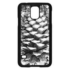 Pinecone Spiral Samsung Galaxy S5 Case (Black)