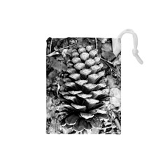 Pinecone Spiral Drawstring Pouches (small)
