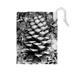 Pinecone Spiral Drawstring Pouches (large)
