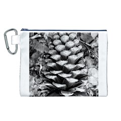 Pinecone Spiral Canvas Cosmetic Bag (L)