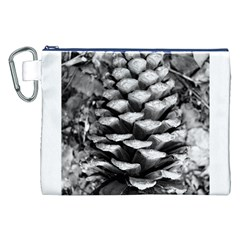 Pinecone Spiral Canvas Cosmetic Bag (XXL)