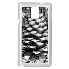 Pinecone Spiral Samsung Galaxy Note 4 Case (white)