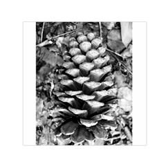 Pinecone Spiral Small Satin Scarf (Square)