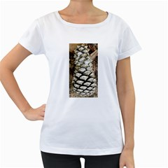 Pincone Spiral #2 Women s Loose-Fit T-Shirt (White)