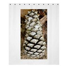 Pincone Spiral #2 Shower Curtain 60  x 72  (Medium)