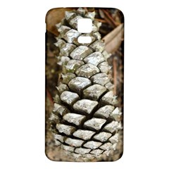 Pincone Spiral #2 Samsung Galaxy S5 Back Case (white)