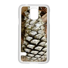 Pincone Spiral #2 Samsung Galaxy S5 Case (White)