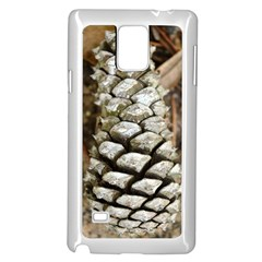 Pincone Spiral #2 Samsung Galaxy Note 4 Case (White)