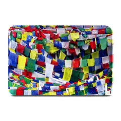 Tibetan Buddhist Prayer Flags Plate Mats