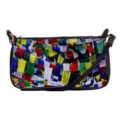 Tibetan Buddhist Prayer Flags Shoulder Clutch Bags