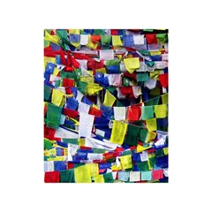 Tibetan Buddhist Prayer Flags Shower Curtain 48  X 72  (small)