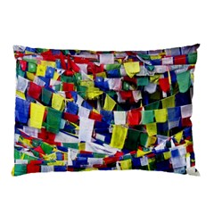 Tibetan Buddhist Prayer Flags Pillow Cases (Two Sides)