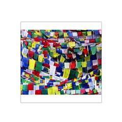 Tibetan Buddhist Prayer Flags Satin Bandana Scarf
