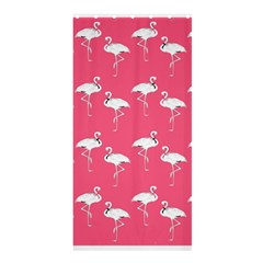 Flamingo White On Pink Pattern Shower Curtain 36  x 72  (Stall)