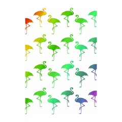 Flamingo Pattern Rainbow  Shower Curtain 48  x 72  (Small)