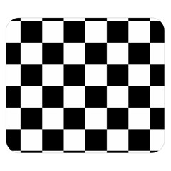 Checkered Flag Race Winner Mosaic Tile Pattern Double Sided Flano Blanket (small)