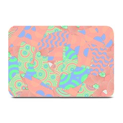 Tropical Summer Fruit Salad Plate Mat