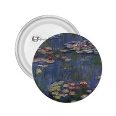 Claude Monet   Water Lilies 2 25  Buttons