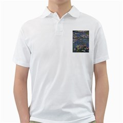 Claude Monet   Water Lilies Golf Shirts