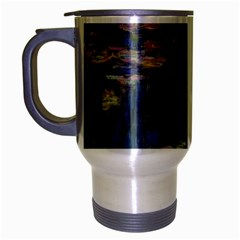 Claude Monet   Water Lilies Travel Mug (silver Gray)
