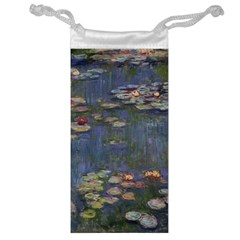 Claude Monet   Water Lilies Jewelry Bags