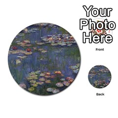 Claude Monet   Water Lilies Multi Purpose Cards (round)