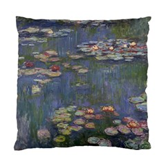 Claude Monet   Water Lilies Standard Cushion Cases (Two Sides)