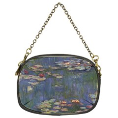 Claude Monet   Water Lilies Chain Purses (two Sides)