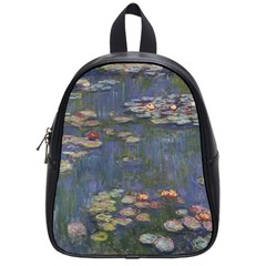 Claude Monet   Water Lilies School Bags (small)