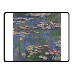 Claude Monet   Water Lilies Fleece Blanket (small)
