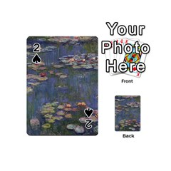 Claude Monet   Water Lilies Playing Cards 54 (mini)
