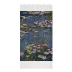 Claude Monet   Water Lilies Shower Curtain 36  x 72  (Stall)
