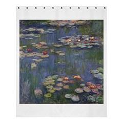 Claude Monet   Water Lilies Shower Curtain 60  X 72  (medium)