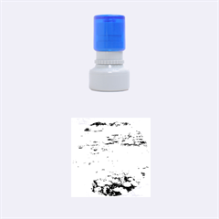 Claude Monet   Water Lilies Rubber Round Stamps (Small)