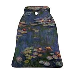 Claude Monet   Water Lilies Ornament (Bell)