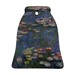 Claude Monet   Water Lilies Bell Ornament (2 Sides)