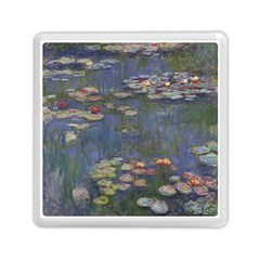 Claude Monet   Water Lilies Memory Card Reader (Square)