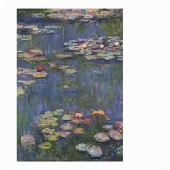 Claude Monet   Water Lilies Small Garden Flag (two Sides)