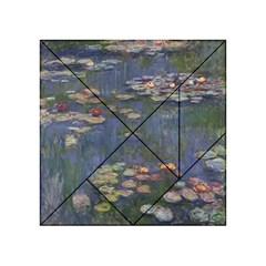 Claude Monet   Water Lilies Acrylic Tangram Puzzle (4  x 4 )