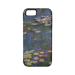 Claude Monet   Water Lilies Apple Iphone 5 Classic Hardshell Case (pc+silicone)
