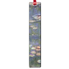 Claude Monet   Water Lilies Large Book Marks