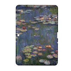 Claude Monet   Water Lilies Samsung Galaxy Tab 2 (10 1 ) P5100 Hardshell Case