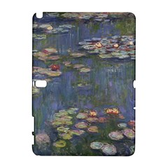Claude Monet   Water Lilies Samsung Galaxy Note 10 1 (p600) Hardshell Case